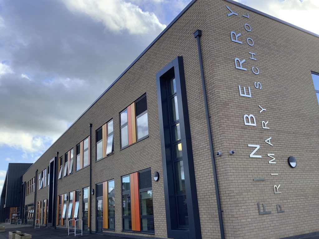 Phase two of Finberry Primary School opens 1