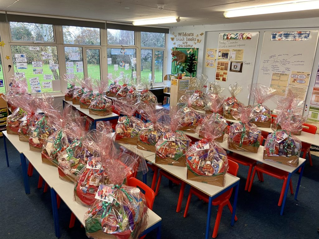 Christmas Hampers made for those hit hardest by Covid-19 2